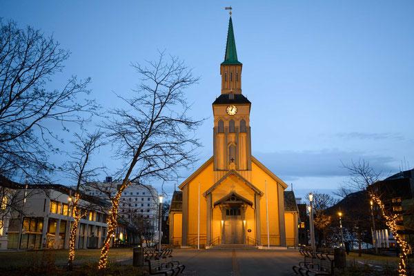 Die alte Kirche von Tromsö
