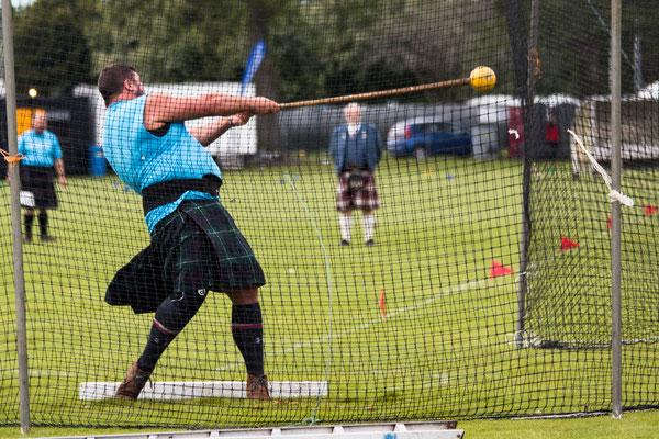 Hammerwerfen / Scots Hammer