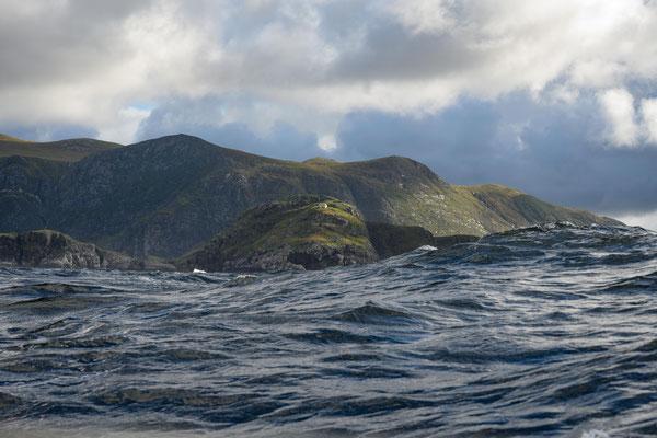 hohe Wellen umStattlandet