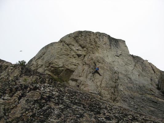 Klettern in Sommerøy/ rock climbing in Sommerøz