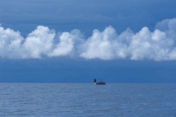 Fischer in der Nordsee
