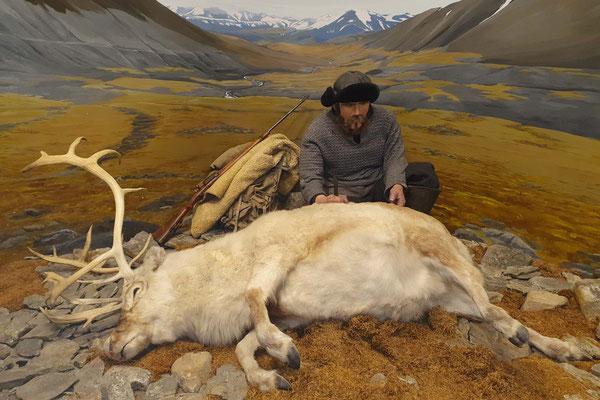 Das Polarmuseum erlaubt einen Einblick in die früheren Jagdmethoden