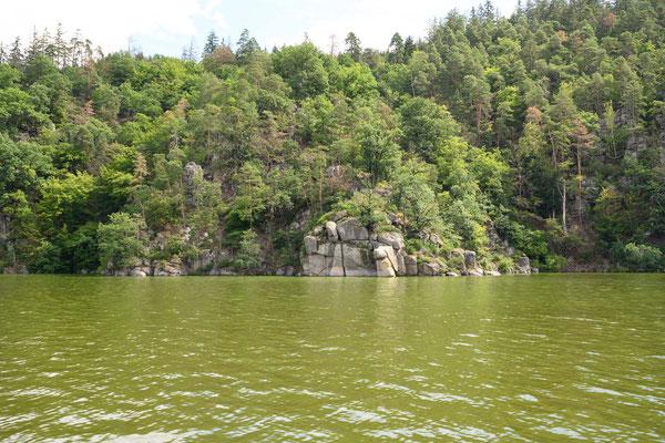 Moldau Wasser ist grün