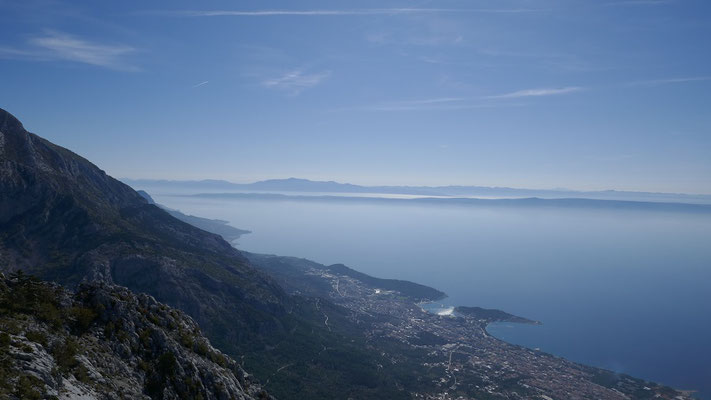 Aussicht nach Makarska
