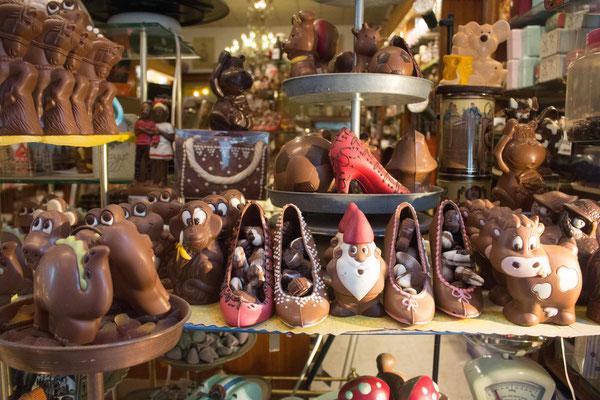 Schokolade in Brügge