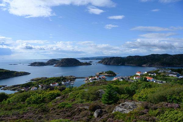 norwegische Südküste