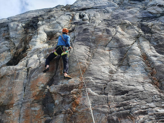 Klettern im Klettergarten Atlantis