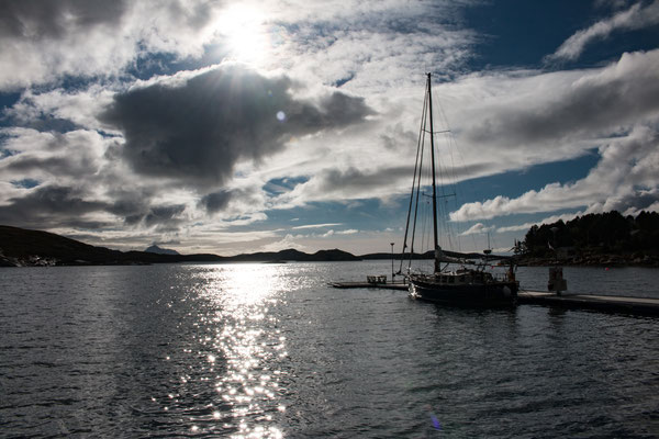 wunderschöner Platz in Klokkergården auf Rødøya