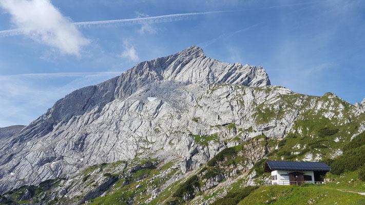 Alpspitze Nordwand von der Alpspitzbahn