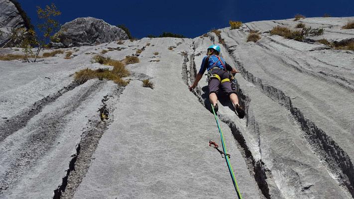 Klettern in den Loferer Steinbergen