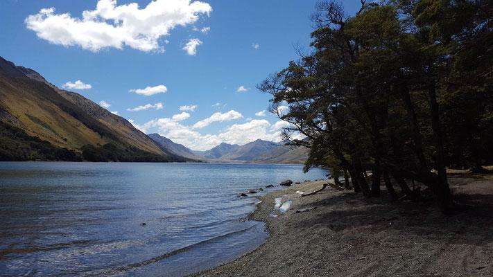 Mavora Lake am Te Araroa