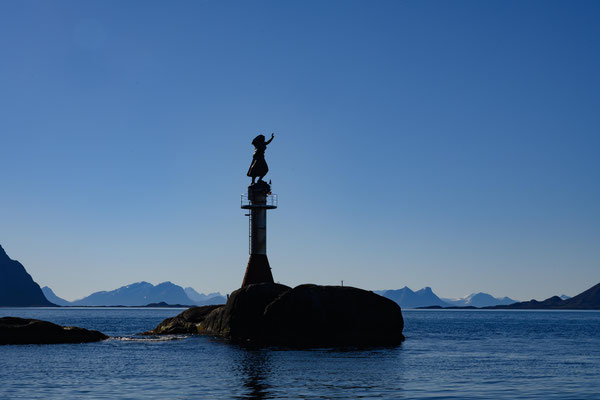 Hafeneinfahrt von Svolvær