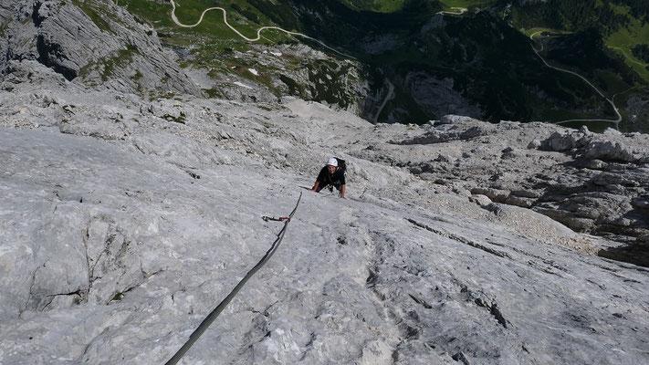 Endlose Platten, KG-Weg Alpspitze