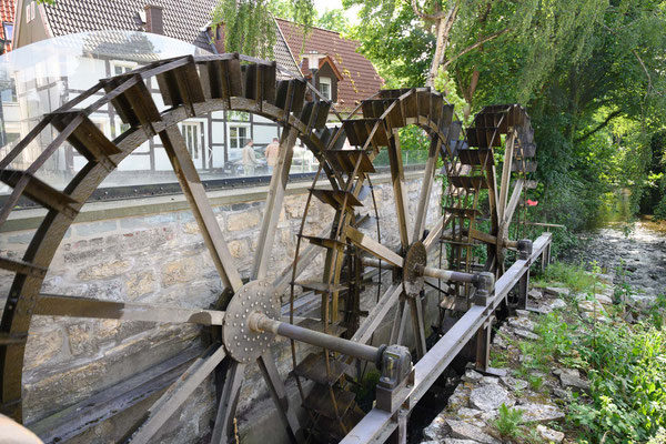 Wasserräder in Rheda-Wiedenbrück
