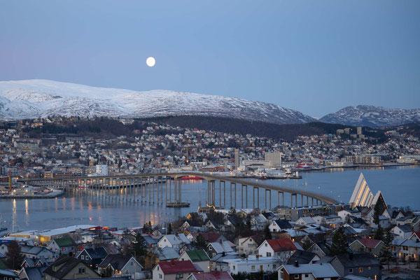 Am Aufstieg zum Fløyfjellet