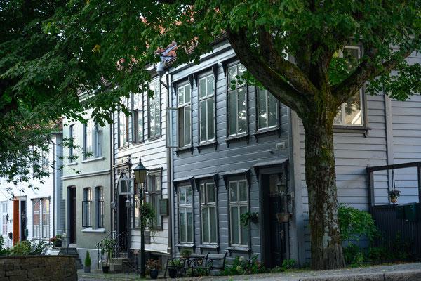 Strassenbild in Bergen