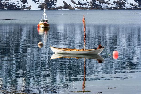 Bergsfjord - ein verträumter Hafen
