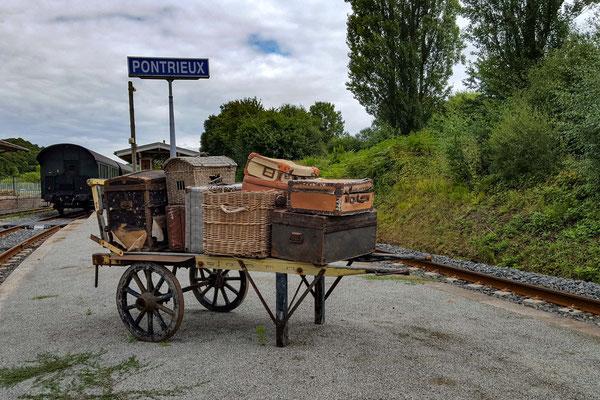 verloren gegangenes Gepäck in Pontrieux