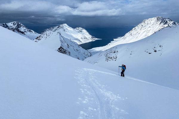 Gipfelblick vomTverfjelllet