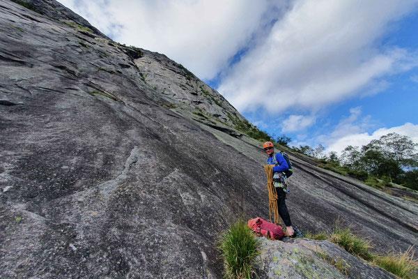 Klettern im Setesdal