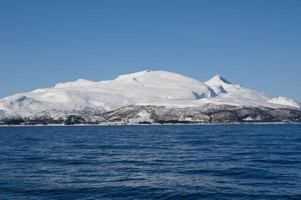 unser Ziel für morgen: Vannkista auf der Insel Vannøya