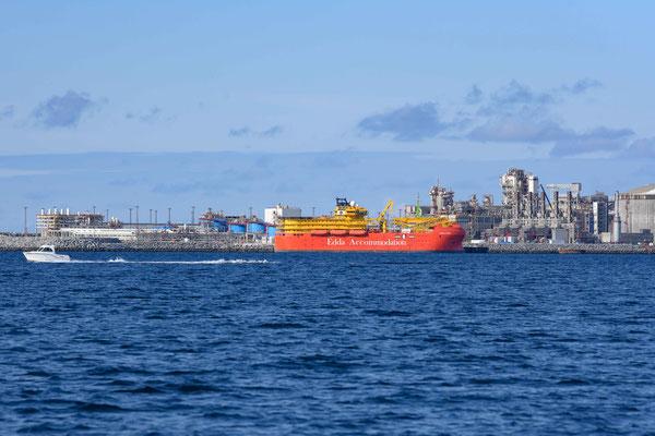 Industrieanlage von Hammerfest