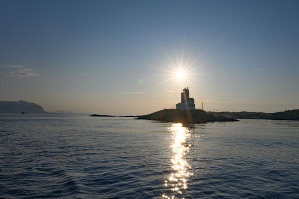 Leuchtturm mit natürlicher Lichtquelle