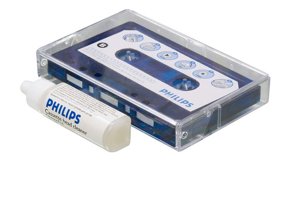 schoonmaakcassette opname/weergavekop