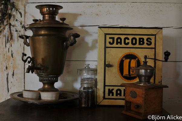 Kaffeearragement, Masuren