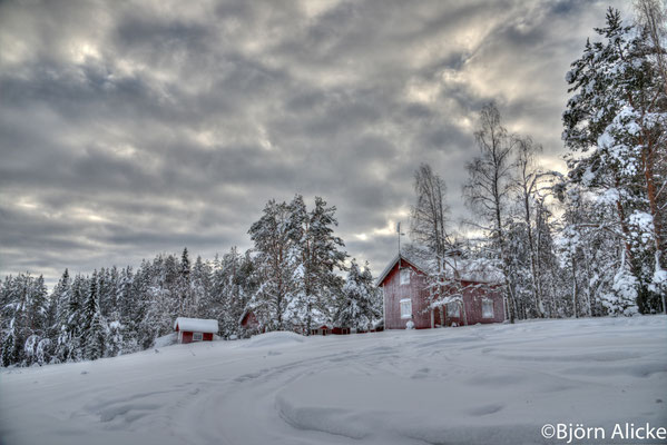 Einsamkeit im Schnee 1, Finnland