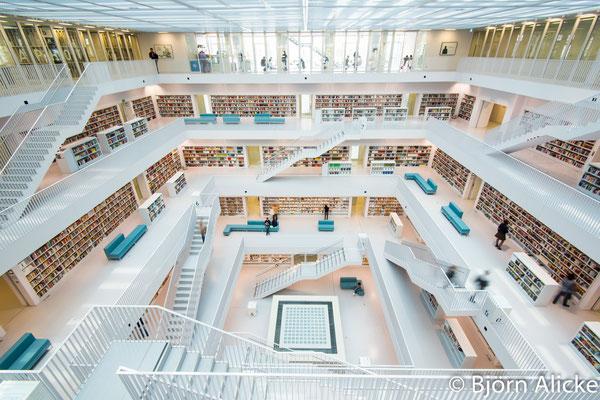 Bibliothek, Stuttgart