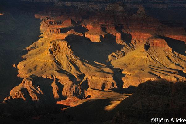Sonnenuntergang 1, Grand Canyon, USA