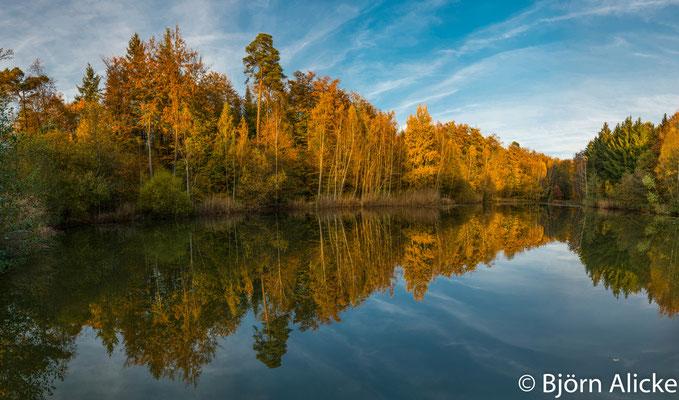 Herbstimpression, nahe Jagsthausen