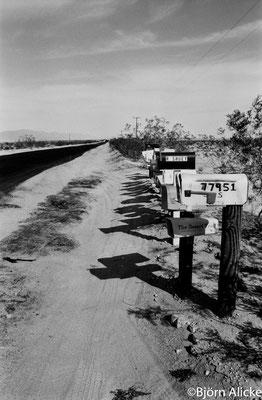 Richtung Death Valley, USA