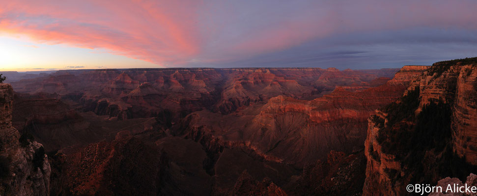 Sonnenuntergang, Grand Canyon, USA
