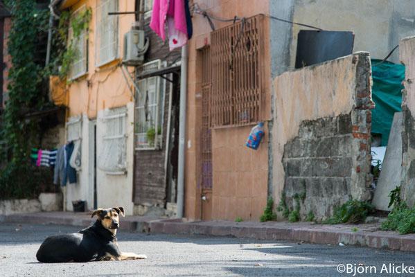 Straßenszene 1, Istanbul