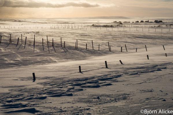 Schneetreiben 1, Norwegen