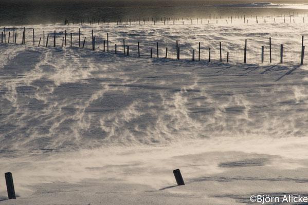Schneetreiben 2, Norwegen