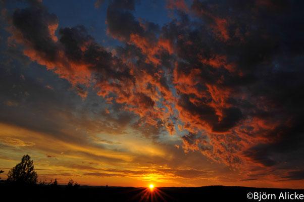 Sonnenuntergang, Schweden