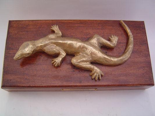 Salamandre de feu - Bronze