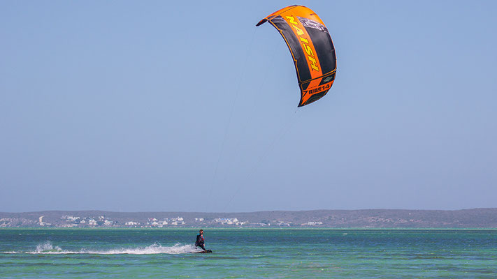 Kitesurfen in Langebaan