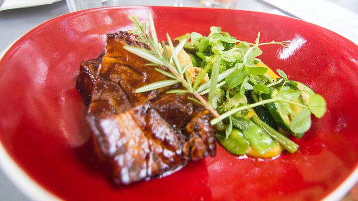 Leckeres Essen in Kapstadt
