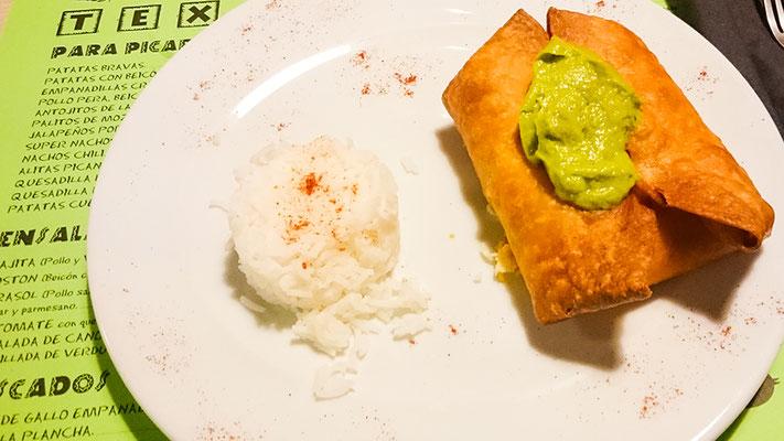 Spanisches Essen in Tarifa