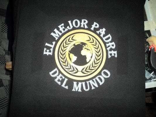 Camiseta diseño dia del padre (Detalle)