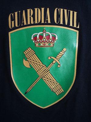 Camiseta Guardia Civil (Detalle)