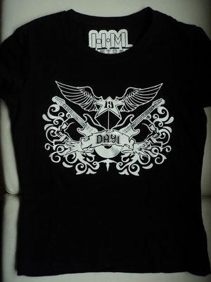 Marquilla camiseta antiguo logo de HMC