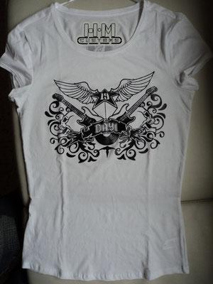 Camiseta personalizada con motivo de ROCK