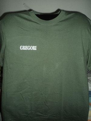 Camisetas para empresa de reformas con nombre (parte frontal)