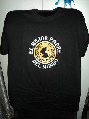 Camiseta diseño dia del padre.