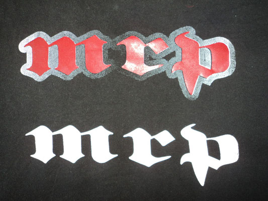 Camiseta para particular logo MRP Bycicles a dos tintas (Espalda))
